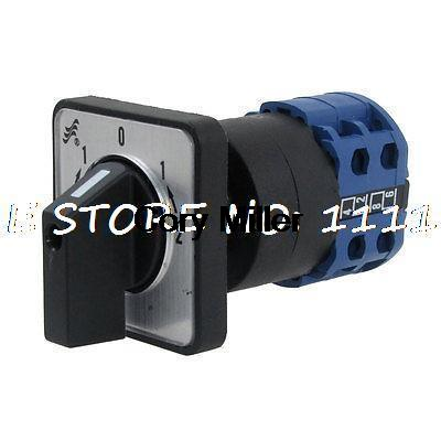 AC 220V-240V 5 Position 8 Screw Terminals Rotary Changeover Switch<br><br>Aliexpress