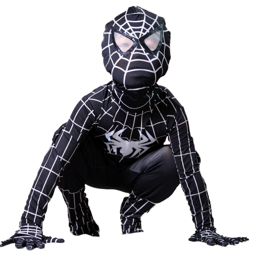 Spider-man Costumes. Showing 40 of results that match your query. Search Product Result. Product - Spider-Man Homecoming Spiderman Child Costume. Product Image. Product - Deluxe Black Spider-Man Muscle Chest Child Halloween Costume. Product Image. Price $ 78 - .