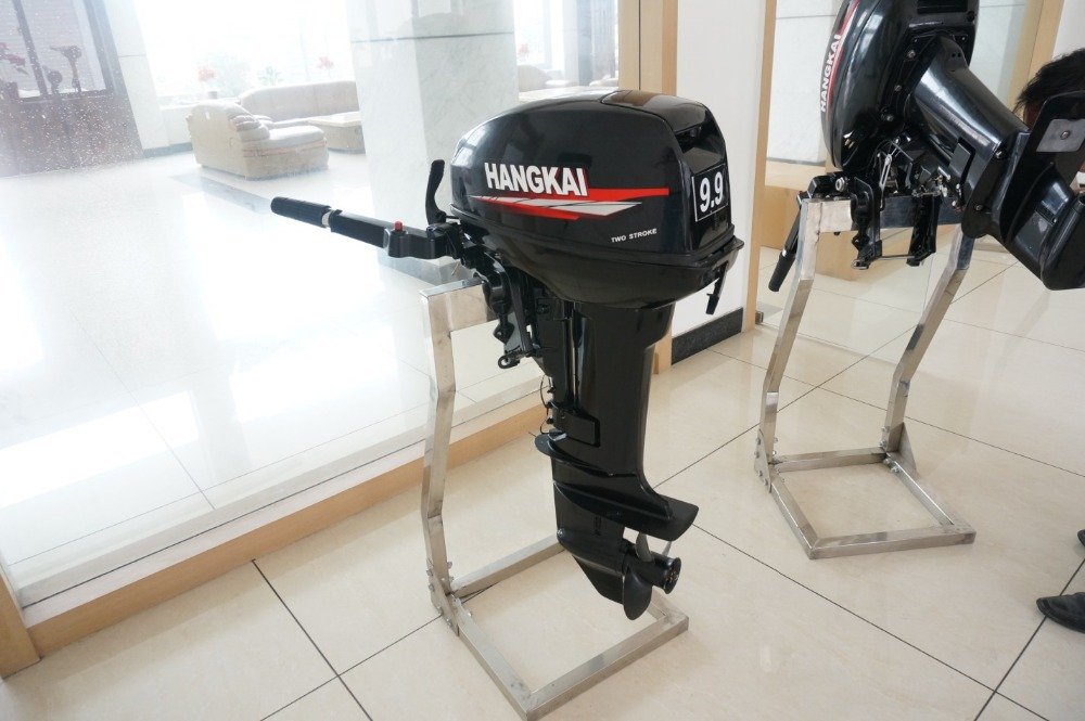 Whosale chinese new cheap hangkai portable 2 Two stroke outboard motors