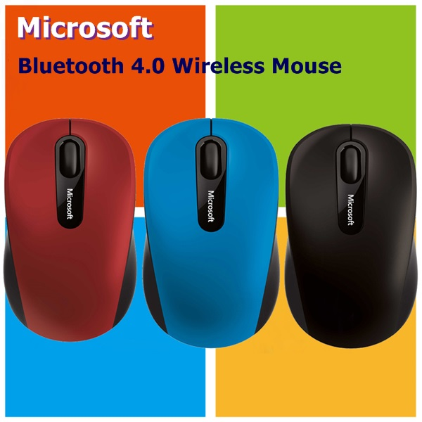 All New Microsoft Bluetooth 4.0 Mobile Mouse 3600 For Windows 10, 8.1, 8,Tablet ,Desktop,Notebook Bluetooth Wireless Mouse(China (Mainland))