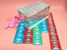 arrived 18-30 days 170 PCS condoms 52 mm width famous brand Natural Latex air style condom with 4 gifts high quality(China (Mainland))