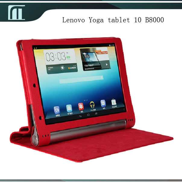 PU Leather Case Smart Cover Skin Pouch with Stand for Lenovo Yoga tablet 10 B8000 10 inch Tablet PC High Quality Perfect Fit<br><br>Aliexpress