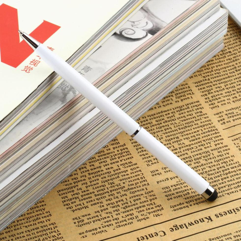 1pcs Fine Point Stylus Capacitive Touch Microfiber Stylus Pen Touch For ipad for iphone White(China (Mainland))
