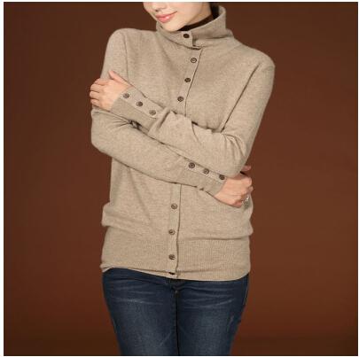 Cashmere свитер female 100% pure cashmere свитер свитер's backing false two sets ...