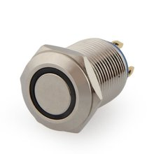 Buy EWS 2A / 3V push button switch push button 12 mm nickel-plated brass bell push for $1.30 in AliExpress store