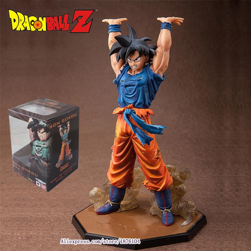 "Anime Dragon Ball Z ZERO Son Goku Genki Dama Spirit Bomb Action Figure Juguetes DragonBall Figures Brinquedos Kids Toys 6.8""(China (Mainland))"