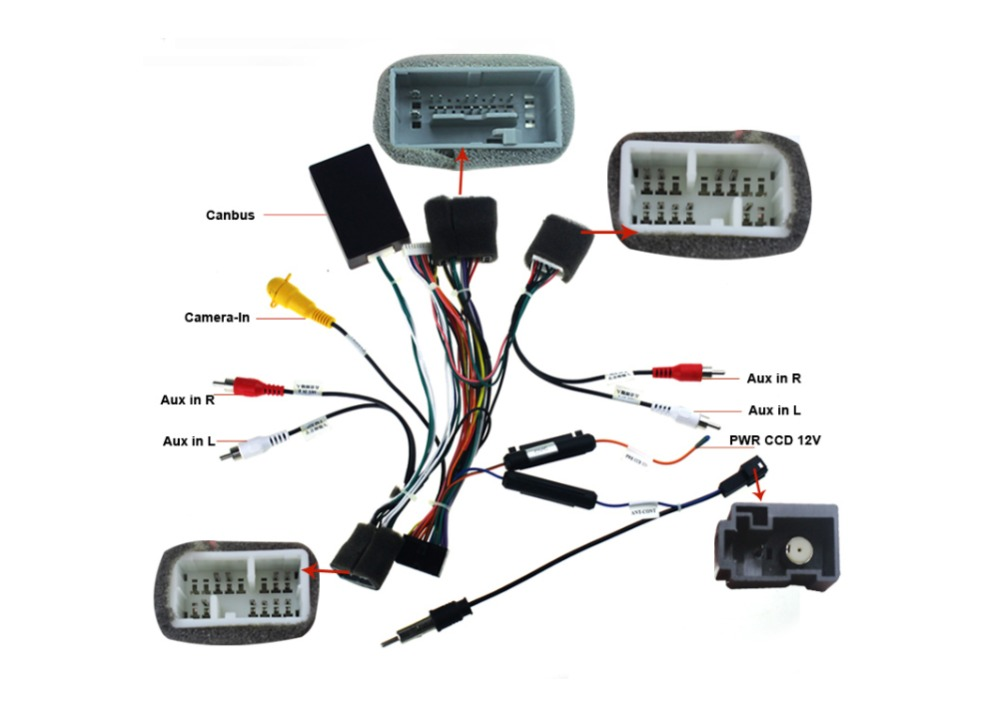 Radio Power Cable : Honda civic radio wiring mazda