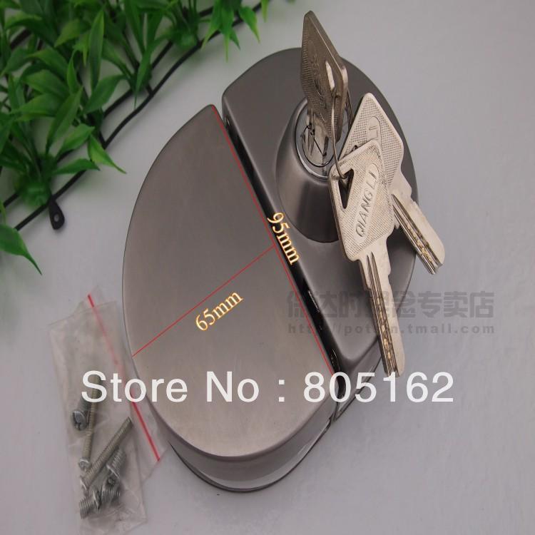 Luxury glass door lock(DFGL-004)(China (Mainland))