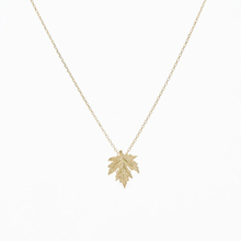 Buy Leaf necklace Gold, Silver dainty handmade necklace Jewelry Accessories Gold Canada Maple Leaf Necklace Pendant for $11.38 in AliExpress store