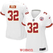 hot sale 2016 new free shipping 100% Elite men women kids youth Kansas City Chiefs 32 Marcus Allen(China (Mainland))