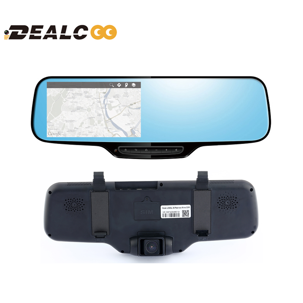2016 3G online google Map New 5' Touch IPS Screen Android 4.4 Car dvr black box 1080 FHD FM GPS Navigator Bluetooth DVR free map(China (Mainland))