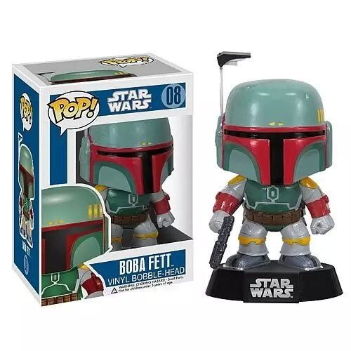Funko Pop Figure 10cm 1pcs Star Wars Boba Fett PVC Cute Action Figure Collection Kids Gifts Toys 1109(China (Mainland))