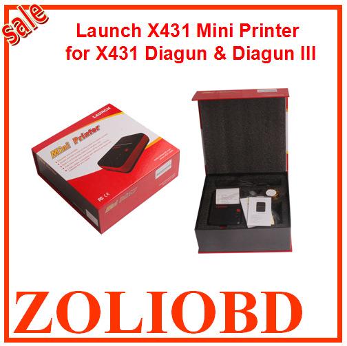 2015 Top Selling Best Price Original Launch X431 Diagun mini printer for diagun/diagun III Launch Diagun printer Free ship stock(China (Mainland))