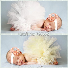 Free shipping new arrival infant photography props baby girl pleated skirt bubble skirt princess skirt(China (Mainland))