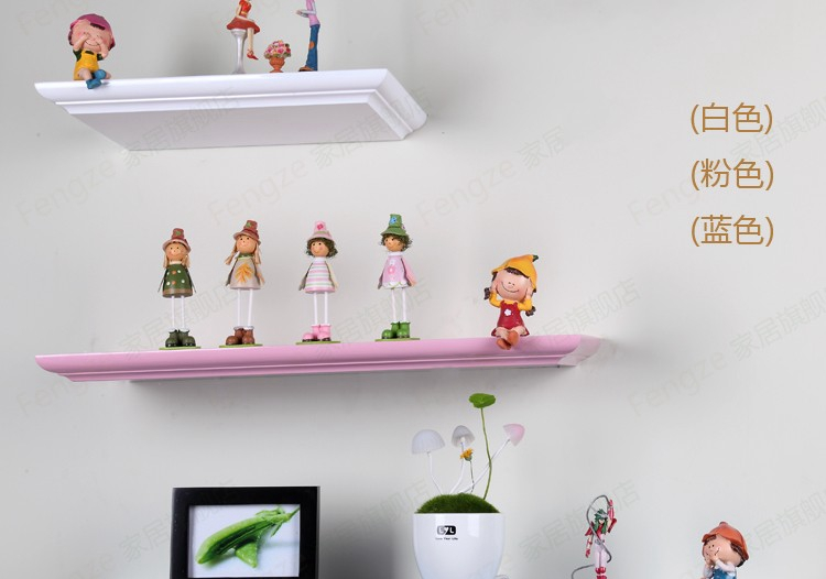 Wood paint shelf shelving word separator wall mount bracket set-top boxes decorated broad frame 15<br><br>Aliexpress