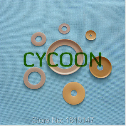teflon rings customerized size MOQ=1PCS Oil free air compressor spare parts(China (Mainland))