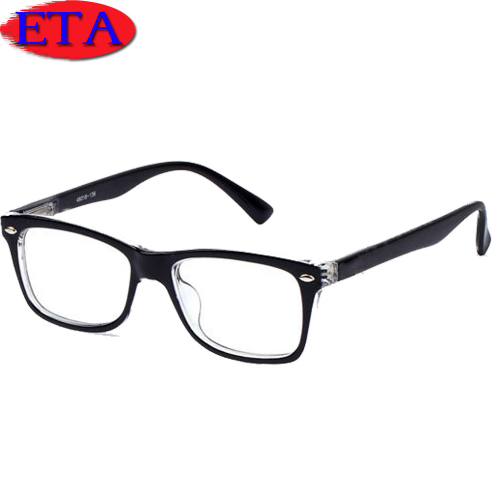 2015 High Quality Frames Optical Eyeglasses Frame Computer Protection Glasses Clear Lens Reading