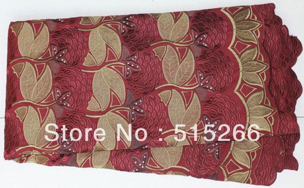 Free shipping!2012 New Fashion Swiss BEST COTTON BIG LACE TKL3082wine red