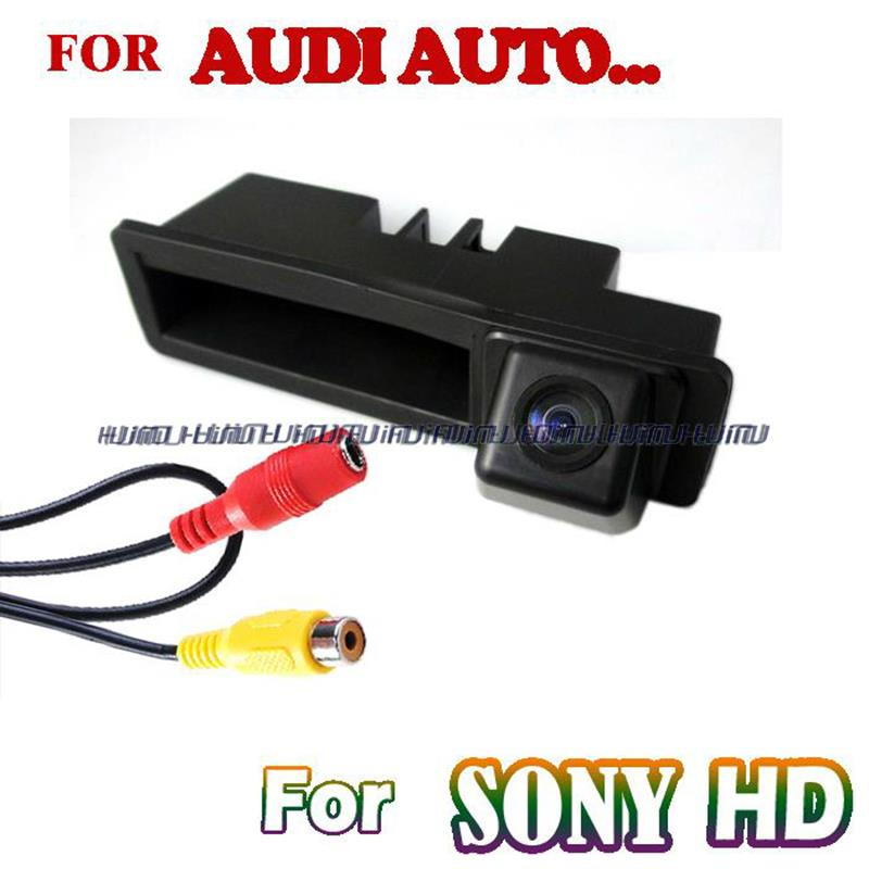 SONY CCD HD rear camera handle position night vision for  A6L/Q7/A4/A3<br><br>Aliexpress