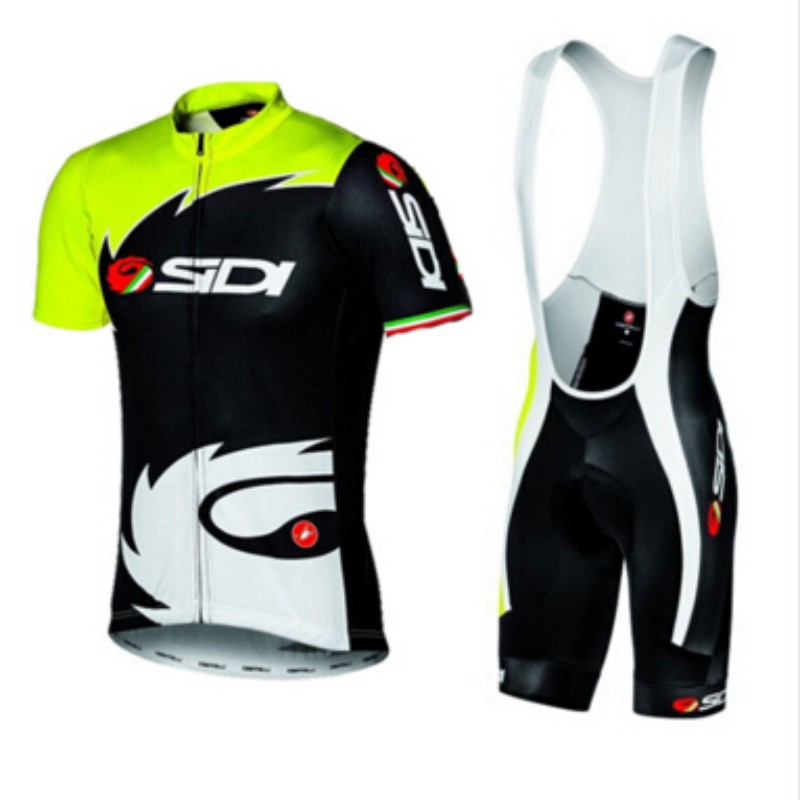 2016 SIDI Cycling jerseys/Quick-Dry Ropa Ciclismo Cycling Jersey/GEL Pad Bike /Racing Bicycle Clothing(China (Mainland))