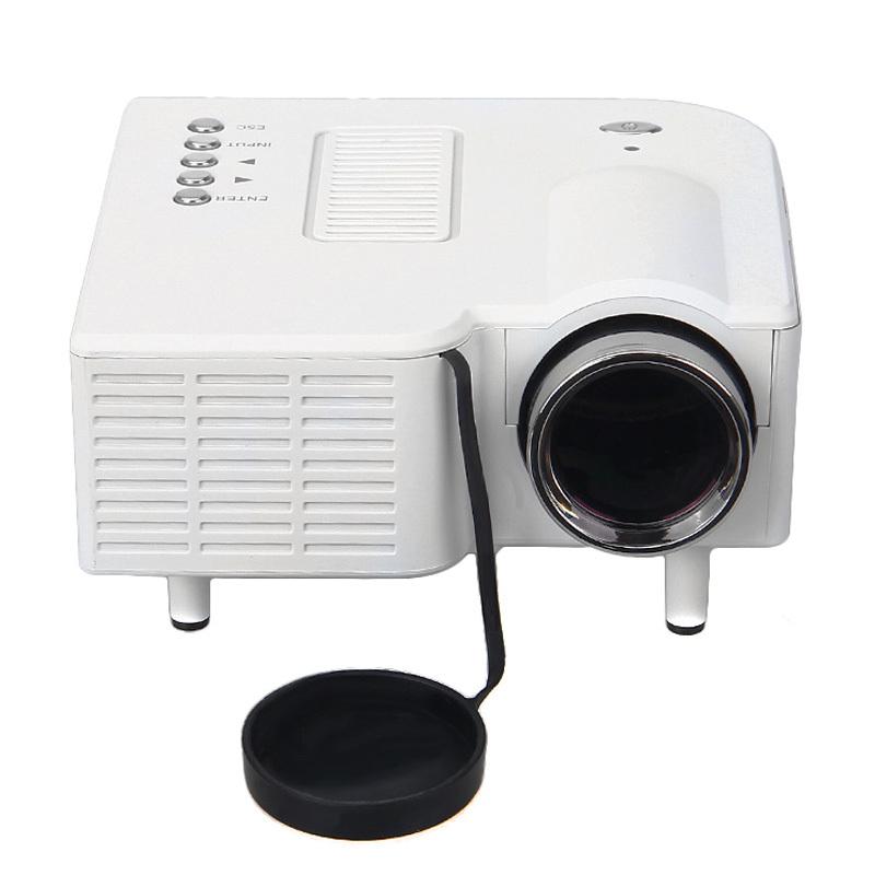 Excelvan Home Theater LED Projector Cinema Theater PC & Laptop VGA/USB/SD/AV/HDMI Portable Mini Projector(China (Mainland))