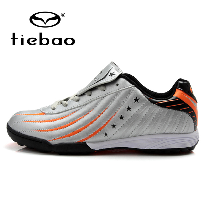 TIEBAO Professional Outdoor Soccer Shoes Men Women Athletic Training Shoes TF Turf Sole Football Boots Sneakers botas de futbol(China (Mainland))