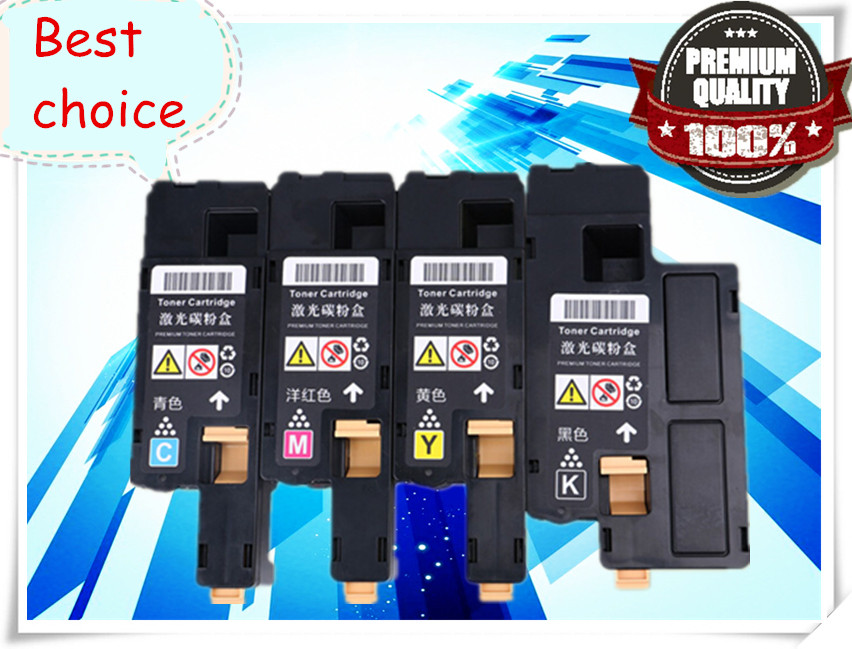 4pcs/set Toner Cartridges Compatible For Xerox phaser 6020 6022 Workcentre 6025 6027 Color laser printer 106R02760 61 62 63(China (Mainland))