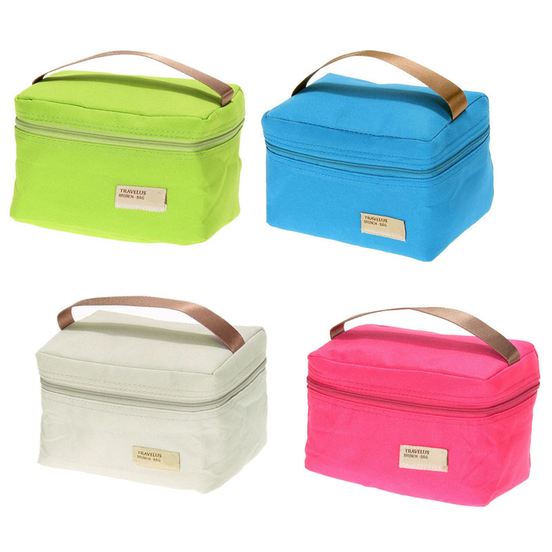 hot selling portable insulated thermal cooler bento lunch box tote picnic home storage bag in. Black Bedroom Furniture Sets. Home Design Ideas