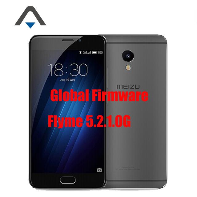 "Оригинальный Meizu MEILAN M3E E 4 Г LTE Смартфон 5.5 ""2.5D MTK Helio P10 Octa Core RAM 3 ГБ 13MP ROM 32 ГБ Touch ID Многоязычная"