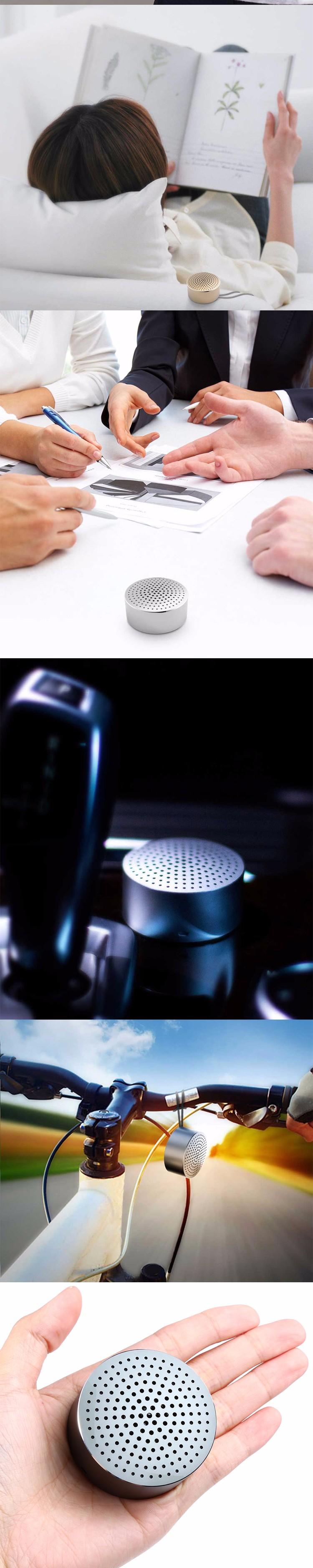 Mi Speaker Metal Steel Hands Free Speaker