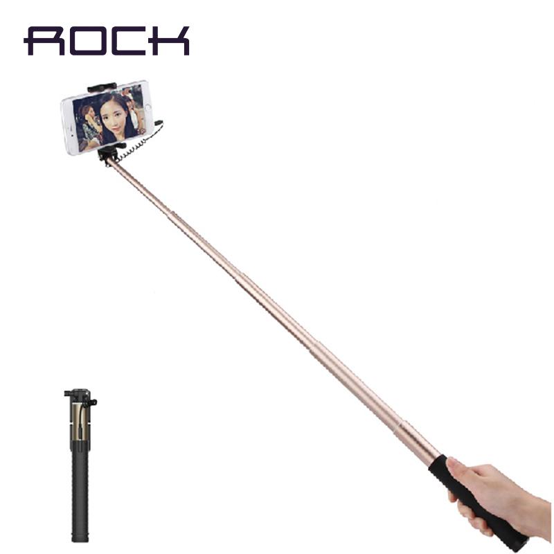 rock original scolour handheld extendable self pole tripod monopod stick for smartphone selfie. Black Bedroom Furniture Sets. Home Design Ideas