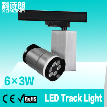 18W LED Track Light LED Tracking Light with CE & RoHS Approval LED-GD061801