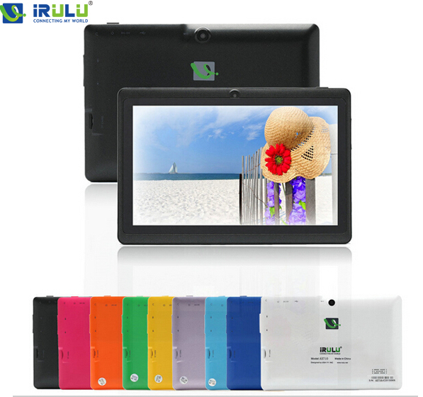 """IRULU X1a 7"""" High End Brand Tablet PC 8GB Android 4.4 Quad Core Dual Cam 1024*600 HD Multi-Color Factory Price Good Quality New(China (Mainland))"""