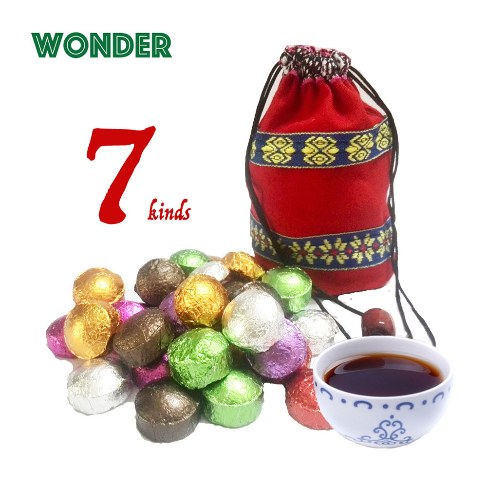 Chinese Yunnan Pu er Tea Puerh Pu erh Slimming Lose Weight Rose Jasmine Lotus Green Tea