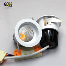 10pieces 9W COB led downlight led Indoor House lighting,led celing light,led downlight 9W ,warm white/cold white,AC85-265V(China (Mainland))