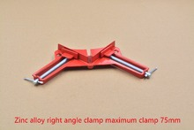90 degree right angle clip folder wood work clip glass clamp frame tool fish tank clip aquarium red right angle clamp 1pcs(China (Mainland))