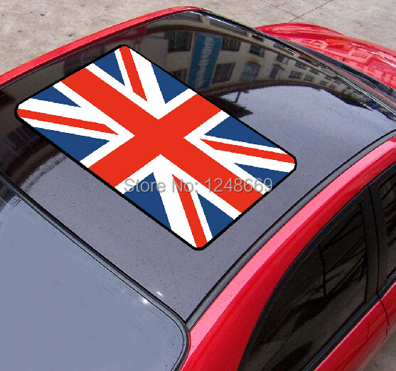Flag of the UK England Car ROOF Stickers waterproof PVC car body sticker Decal vinyl sticker(China (Mainland))