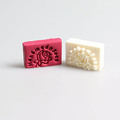 Free shipping 100 natural handmade soap pattern Mini diy soap stamp chaprter seal 4 4cm Custom