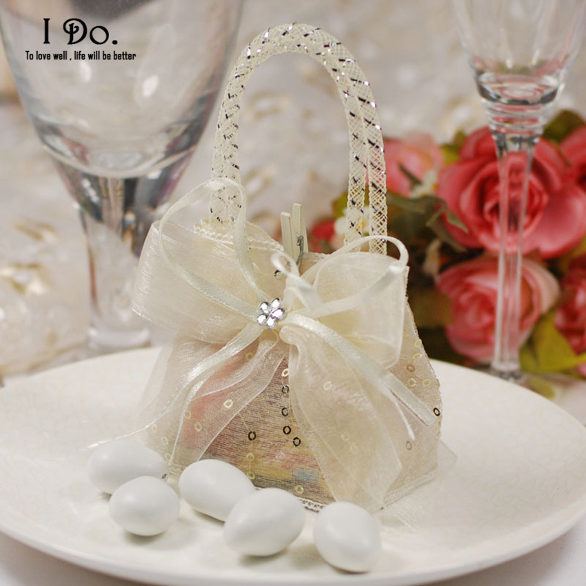 Free Shipping 10pcs Cute Wedding Favor Pouch Wedding Candy Box Lembrancinhas Casamento Wedding Favors And Gifts Almond Wedding(China (Mainland))
