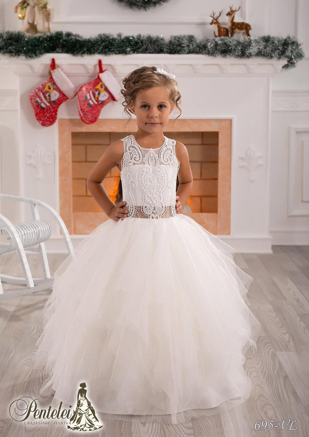 Simple Cute Jewel Applique Sash Net Baby Girl Birthday Party Christmas Princess Dresses Children Girl Party Dresses Flower Girl(China (Mainland))