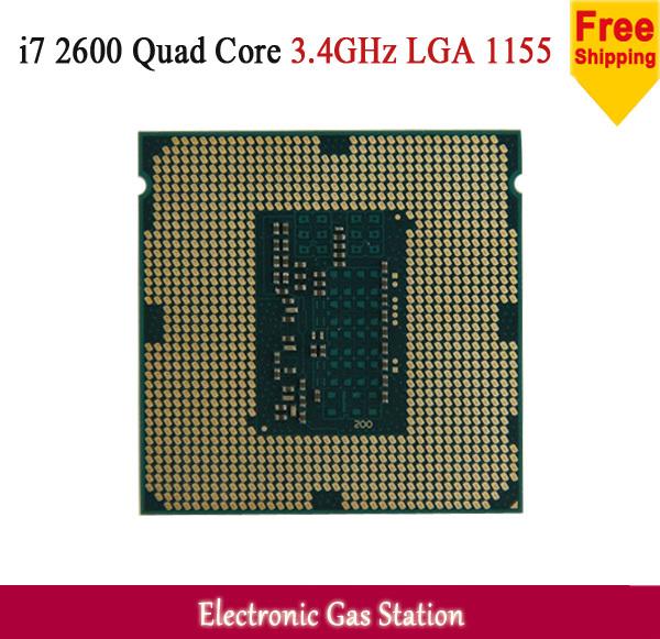 Original Processor Intel i7 2600 Quad Core 3.4GHz TDP 95W 8MB Cache Socket LGA 1155 Desktop CPU