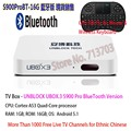 IPTV UNBLOCK UBOX3 Gen 3 S900 ProBT Bluetooth Version 8GB Smart Android TV Box 1000 Free