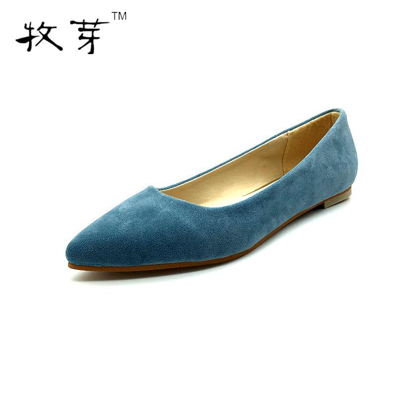 Buy 2016 Fashion Women Shoes Woman Flats Shoes Women Suede Casual Comfortable