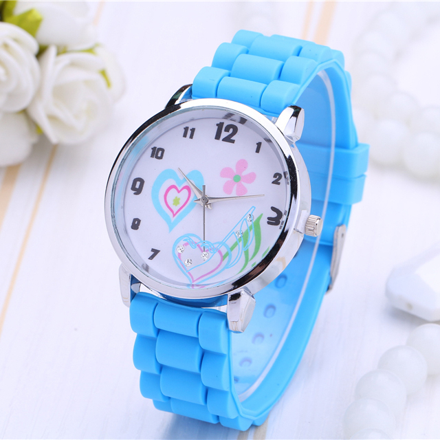 Ms 2016 new tide quartz watch, a variety of color silicone strap, love music pattern design, girls love to watch, sport watch<br><br>Aliexpress