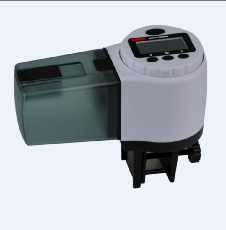 Digital Automatic Aquarium Tank Auto Fish Feeder DC500 Timer Food Feeding Automatic Fish Feeder Fish Food(China (Mainland))