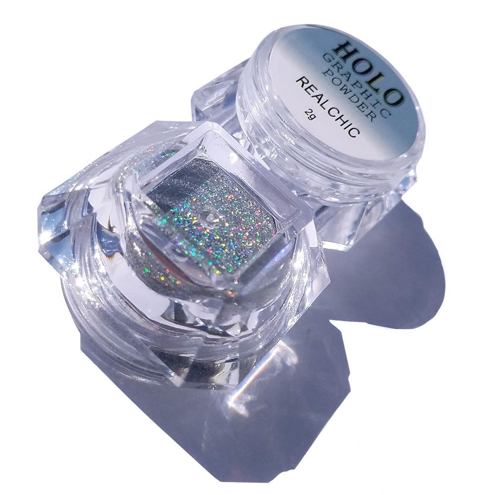 2g/Box 0.05mm Mirror Powder Gold Pigment Ultrafine Powder Dust Chrome Pigment Nail Glitters Nail Sequins Nail Art Decorati(China (Mainland))