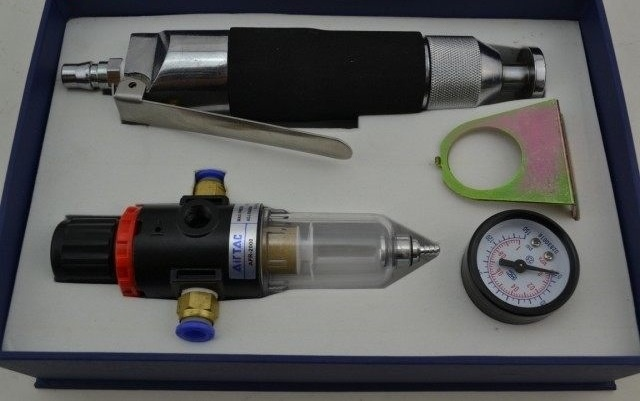 Set pneumatic massage hammer upper massage wrinkle flattening tools,air power shoes hammer,handle small mini hammer(China (Mainland))