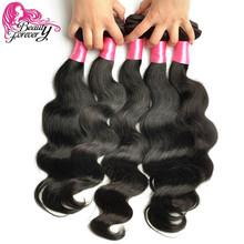 Beauty Forever Brazilian Virgin Hair Body Wave 7A Brazilian Hair Weaves 4 Bundles Virgin Brazilian Body Wave Human Hair Weaving(China (Mainland))