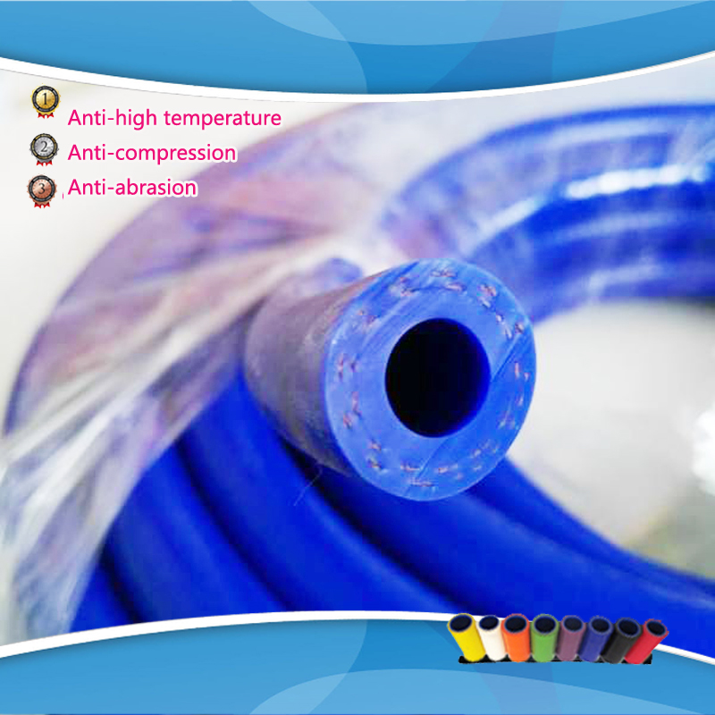 ID:10MM OD:19MM Reinforced Silicone Vacuum Hose Tubing Silicone Pipe Car Reinforced Modification(China (Mainland))