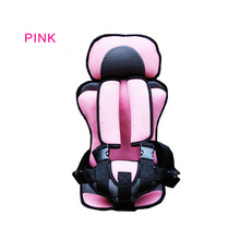 Convertible Portable baby safety seat Children's Chairs in the Car,Updated Version,Thickening Sponge cotton Kids comfortable(China (Mainland))